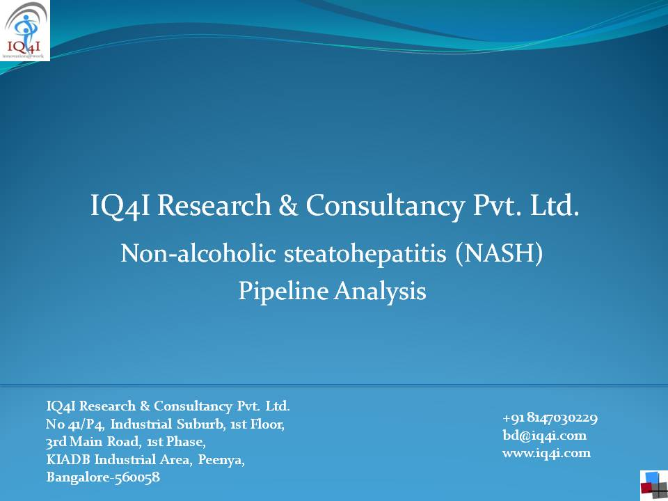 """IQ4I Research published  """"Non-alcoholic steatohepataitis (NASH)"""" Pipeline Analysis"""