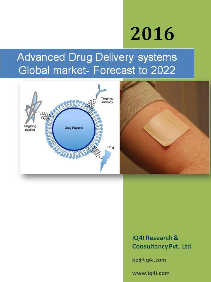Advanced Drug Delivery Systems Global Market - Forecast to 2022