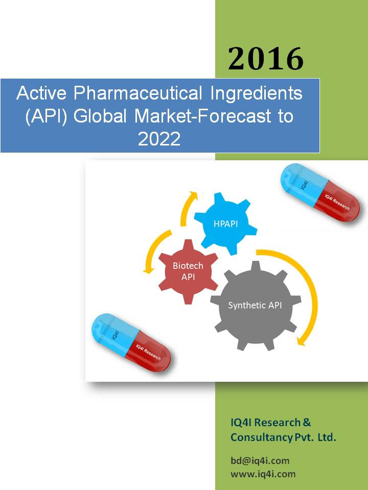Active Pharmaceutical Ingredients (API) Global Market - Forecast to 2022