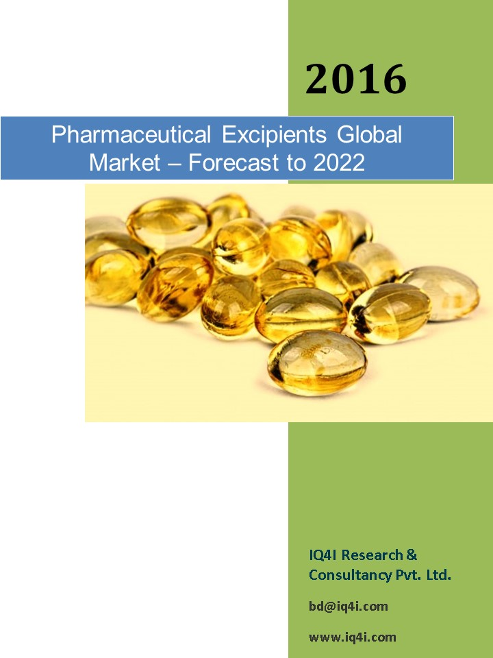 Pharmaceutical Excipients Global Market - Forecast to 2022