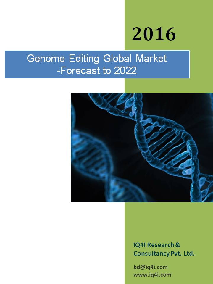 Genome Editing Global Market-Forecast to 2022