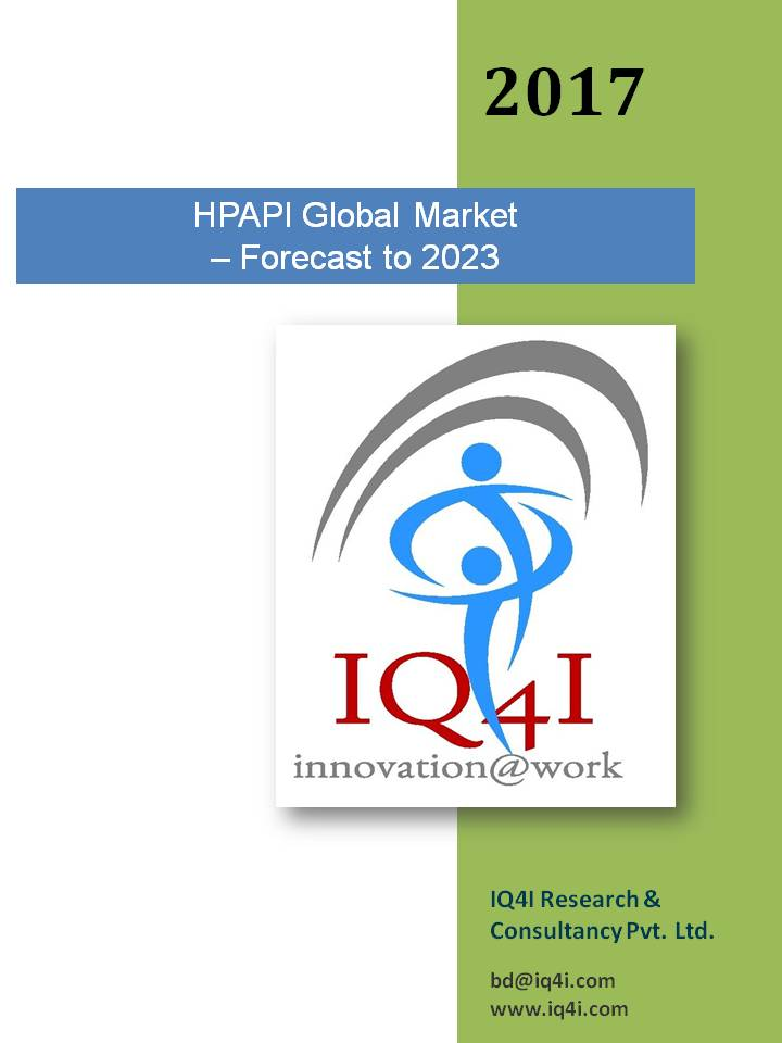 HPAPI (High Potency Active Pharmaceutical Ingredients) Global Market – Forecast To 2023