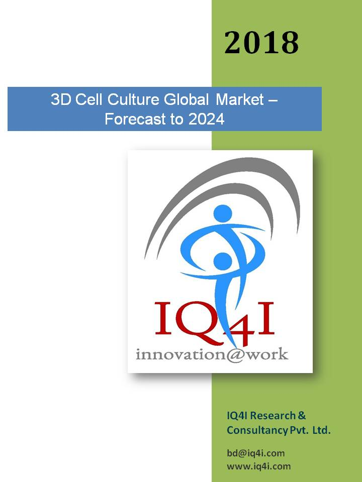 3D Cell Culture Global Market - Forecast to 2024